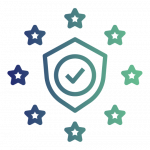 The icon that Cantium use to signify their GDPR services