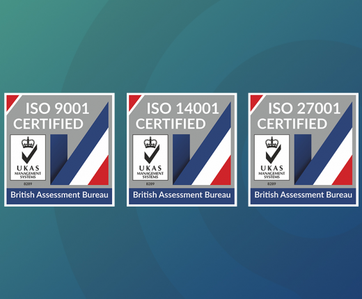 Cantium's ISO Certifications