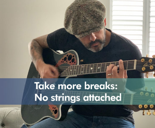 Icon for Take more breaks: No strings attached