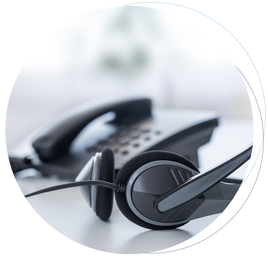 Telephone and Headset for VoIP for the Public Sector