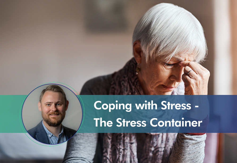 Coping with stress - stress container insight cover image