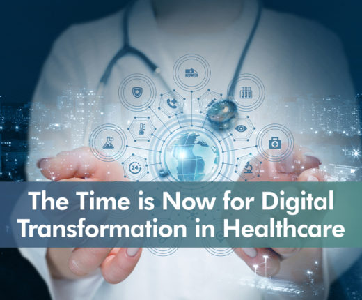 Icon for The Time is Now for Digital Transformation in Healthcare