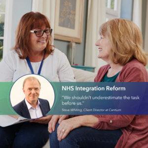 NHS integration form